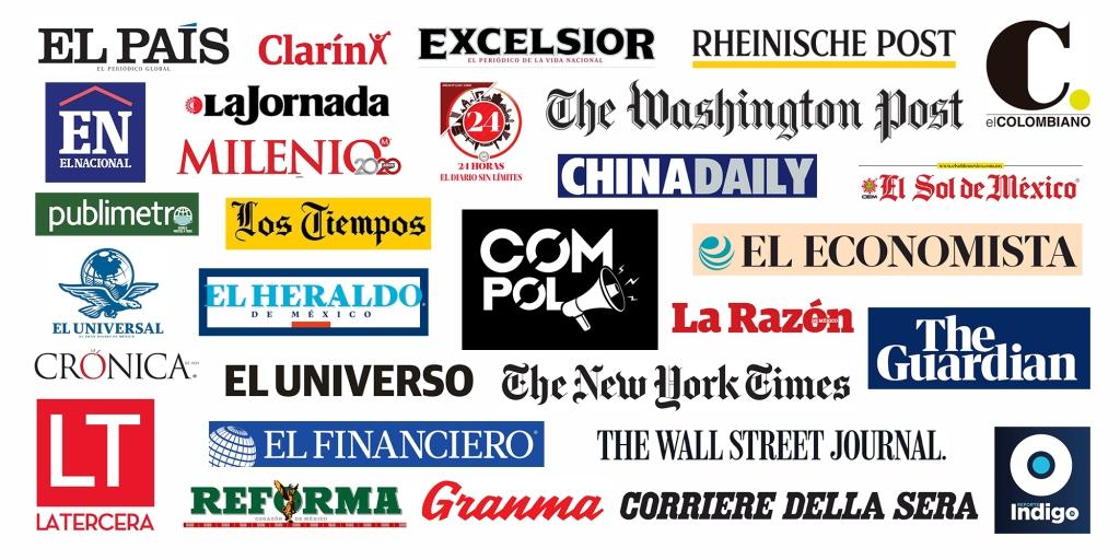 Primeras planas de la prensa y el mundo